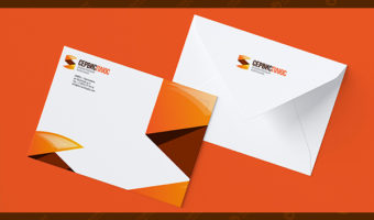 Фирменный конверт — Сервис Плюс