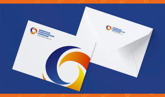 Конверт с логотипом — СГК