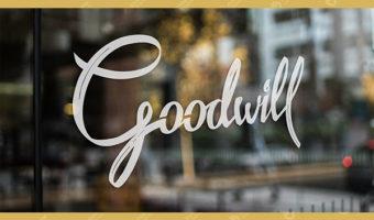 Наклейки на стекло — Goodwill