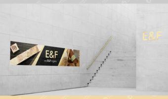Вывеска — E&F