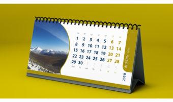 Настольный календарь — Сибгеоконсалтинг