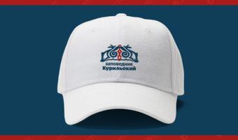 Бейсболка с логотипом — Заповедник Курильский
